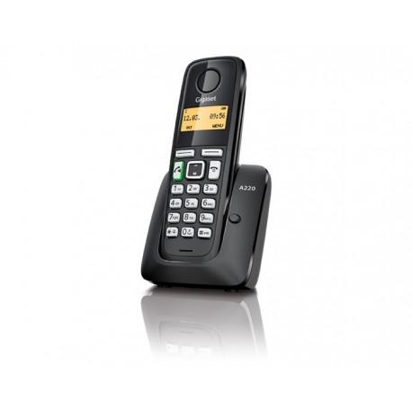 Gigaset - A220 DECT Identificador de llamadas Negro