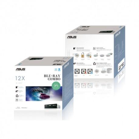 ASUS - BC-12D2HT Bulk Interno Blu-Ray DVD Combo Negro unidad de disco óptico