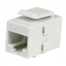 StarTech.com - Acoplador Keystone de Cable de Red Ethernet Cat6 RJ45 - Hembra a Hembra