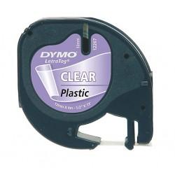 DYMO - S0721530 cinta para impresora de etiquetas Negro sobre transparente