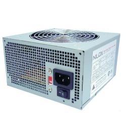 Nilox - NX-PSNI5001 unidad de fuente de alimentación 500 W ATX Plata