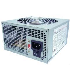 Nilox - NX-PSNI6001 unidad de fuente de alimentación 600 W 20+4 pin ATX ATX Blanco
