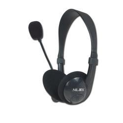 Nilox - Chat Live HM1 auriculares para móvil Binaural Negro