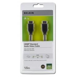 Belkin - HDMI 1.4 1.5m cable HDMI 1,5 m HDMI tipo A (Estándar) Negro