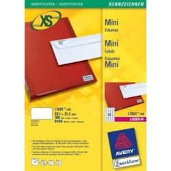 Avery - L7651-100 etiqueta de impresora