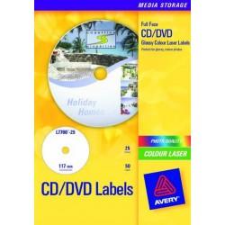 Avery - L7760-25 etiqueta de impresora