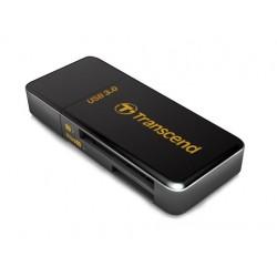 Transcend - RDF5 lector de tarjeta USB 3.0 Negro