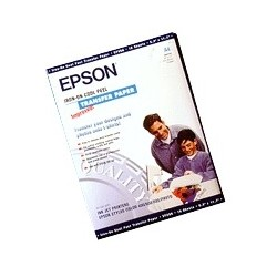 Epson - Papel de transferencia iron-on, DIN A4, 124 g/m², 10 hojas