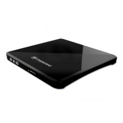 Transcend - TS8XDVDS-K unidad de disco óptico Negro DVD±R/RW