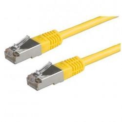 Nilox - 0.5m UTP Cat5e cable de red 0,5 m U/UTP (UTP) Amarillo