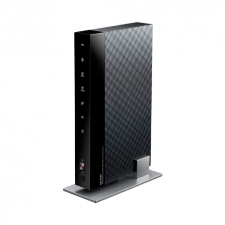 ASUS - DSL-N66U Doble banda (2,4 GHz / 5 GHz) Gigabit Ethernet Negro router inalámbrico