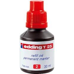 Edding - EDD FRASCO TINTA 30ML RO T-25-02T-25-02