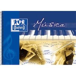 Oxford - OXF LIBRETA MUSICA 4º APAIS 20H 142020
