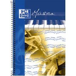 Oxford - OXF LIBRETA MUSICA Fº 20H 142021
