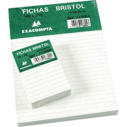 Exacompta - EXA PAQ 100 FICHAS 125X200 LISO 10503E