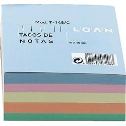 Papier - LOA TACO 500H ENC COL 100X100MM T-148/C