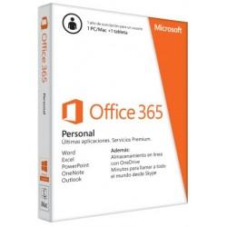 Microsoft - Office 365 Personal 1usuario(s) 1año(s) Español