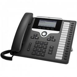 Cisco - 7861 teléfono IP Negro, Plata Terminal con conexión por cable LCD 16 líneas