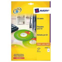 Avery - L7676-100 etiqueta de impresora
