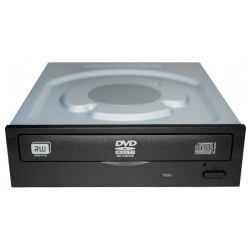 Lite-On - iHAS122 Interno DVD±RW Negro, Acero inoxidable unidad de disco óptico