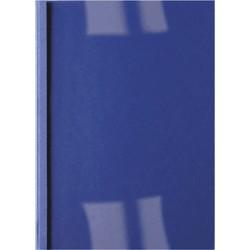 GBC - Carpeta Térmica Ibileather 6 mm Azul (Caja 100)