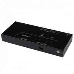 StarTech.com - Switch Matricial HDMI de 2x2 con Conmutado Automático y Prioritario - Conmutador Matrix 1080p