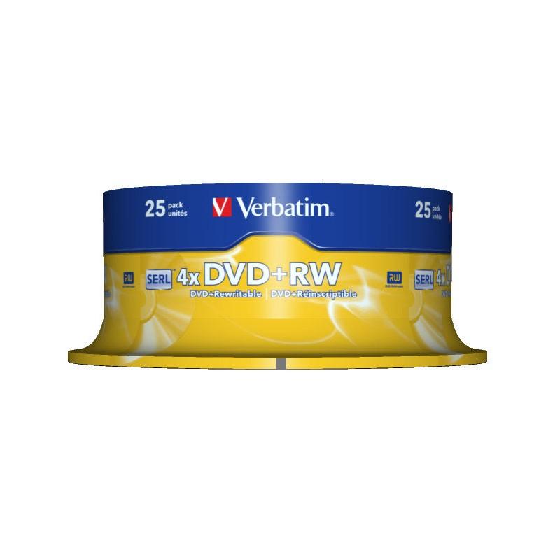 Verbatim - DVD+RW Matt Silver 4