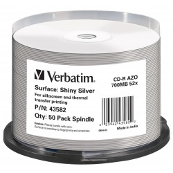 Verbatim - 43582 CD en blanco CD-R 700 MB 50 pieza(s)