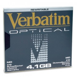 "Verbatim - 5.25"" 4.1Gb ReWritable MO Disk 5.25"" disco magneto-oóptico"