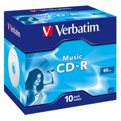 Verbatim - Music CD-R 700 MB 10 pieza(s)