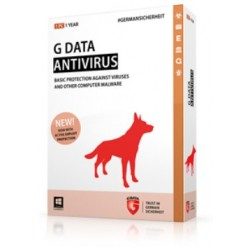 G DATA - Antivirus, 1PC, 1 Year, Box 1año(s) Español