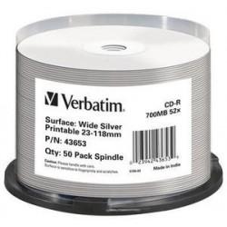 Verbatim - 43653 CD en blanco CD-R 700 MB 50 pieza(s)
